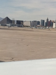Vegas from the tarmac